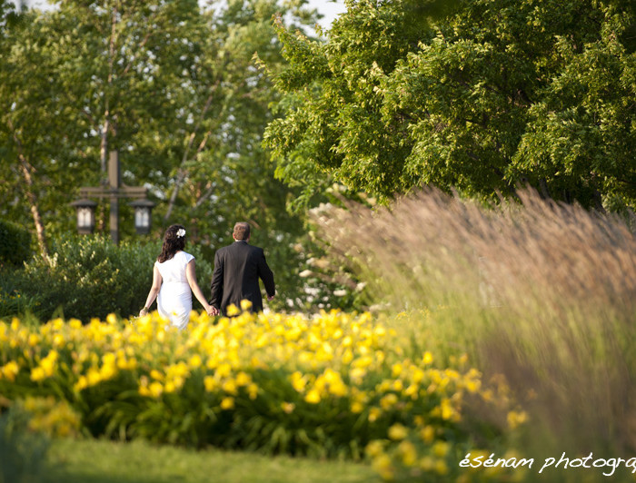 Ken & Sara's Outdoor Wedding Chicago Suburbs - Chicago Wedding Photographer
