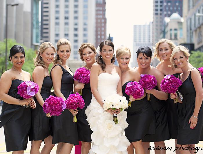Anna & Bryan: Greek Wedding Chicago - Art Institute of Chicago Modern Wing Wedding