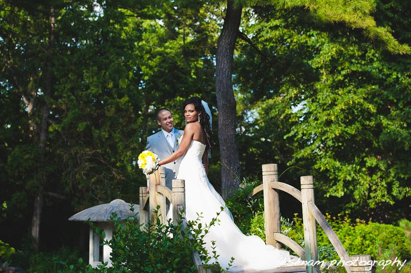 Chicago Wedding Photographers: Jordan & Patrick's Fabyan Japanese Garden Wedding
