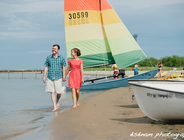 Justin & Loretta's Chicago Engagement Session – Lincoln Park and Montrose Beach, Chicago IL Engagement Photographer