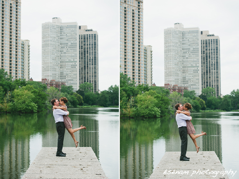 chicago engagement Photography 2 - beach wedding in chicago