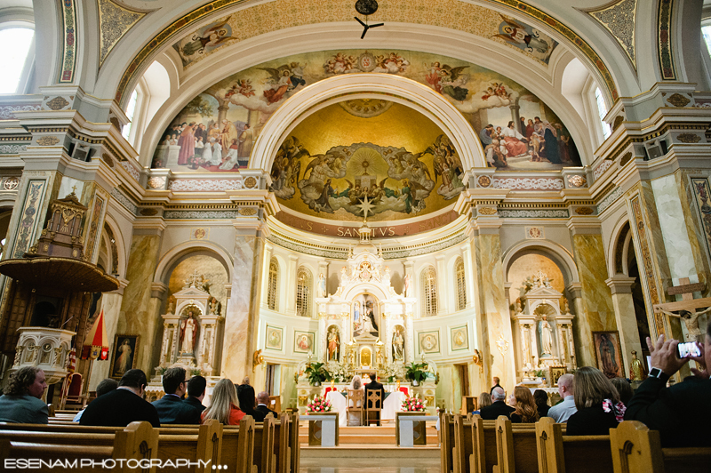 St Hyacinth Basilica Weddings Chicago 15 Chicago Wedding Photographer Wedding Photographers
