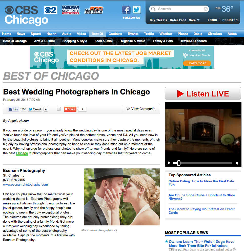 Best Wedding Photographers in Chicago