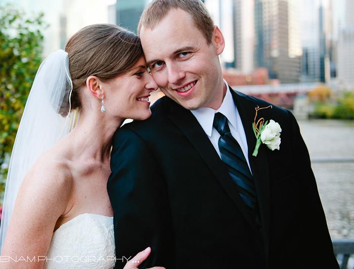 Kara & David's River East Art Center Wedding Chicago - Chicago Wedding Photography