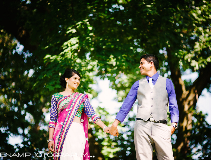 Geeta & Jignesh's Indian Engagement Chicago - Indian Wedding Photographer Chicago