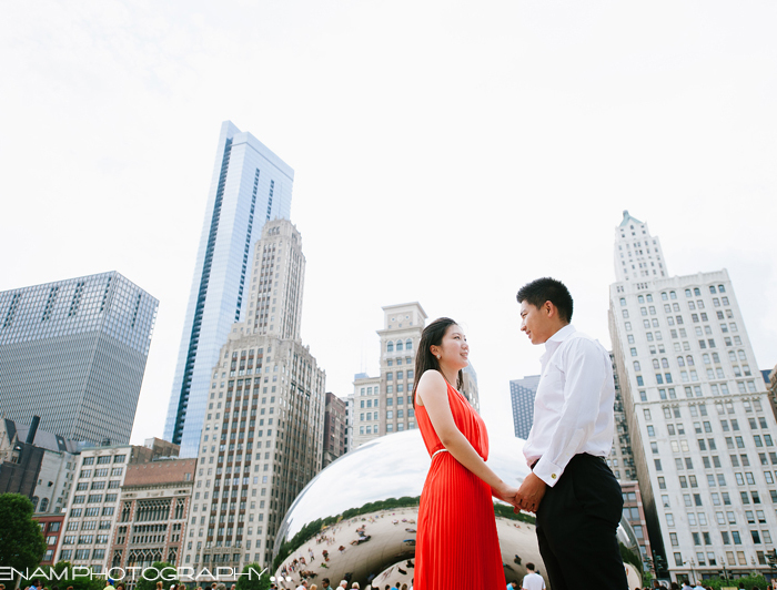 Xiaoxiao & Lee's Engagement Pics - Artistic Wedding Photographer Chicago