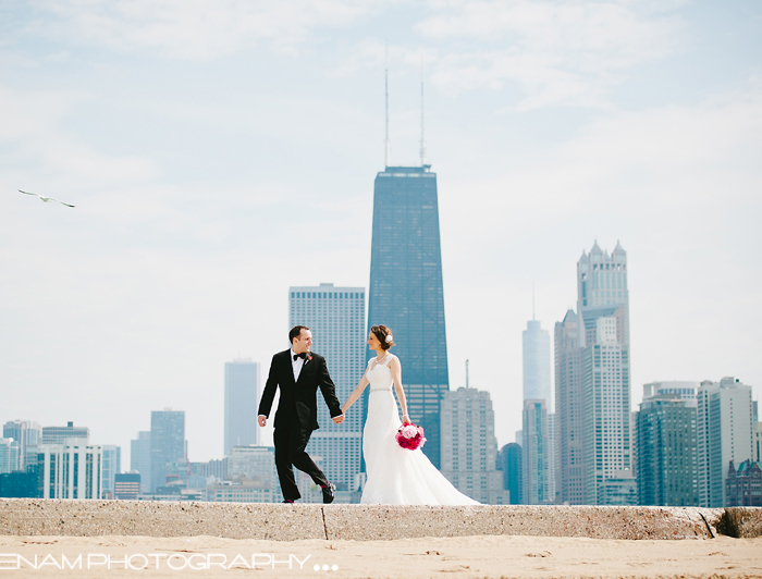 Mike & Emily's Palmer House - St. Alphonsus Wedding - Chicago Wedding Photography