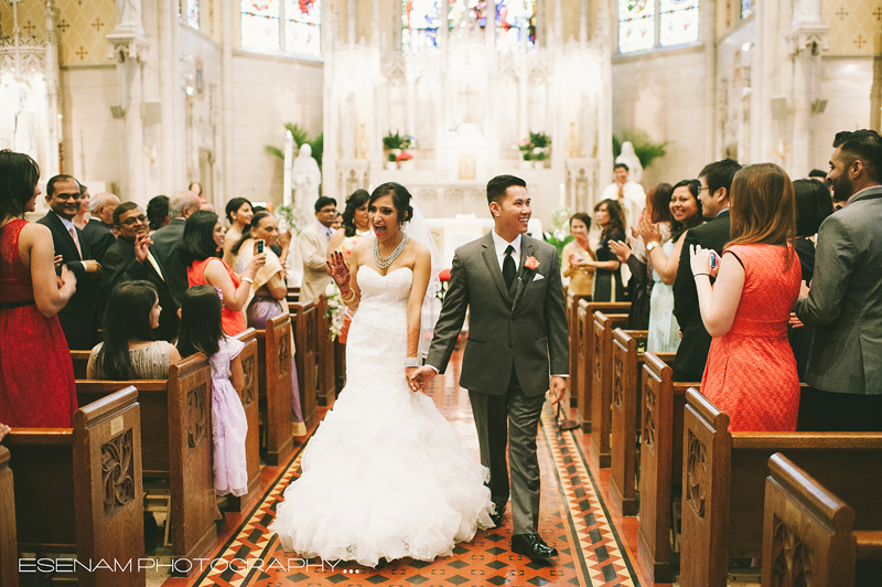 St Ita Catholic Church Weddings Chicago