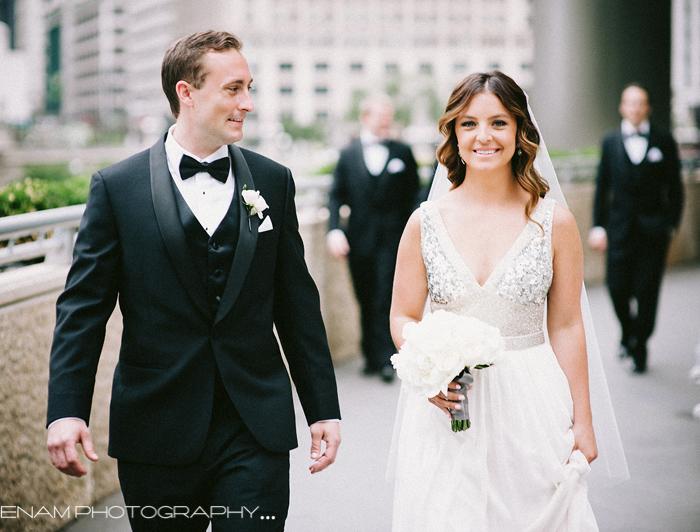 An Elegant Langham Chicago Wedding with Kat & Kyle - Chicago wedding Photographers
