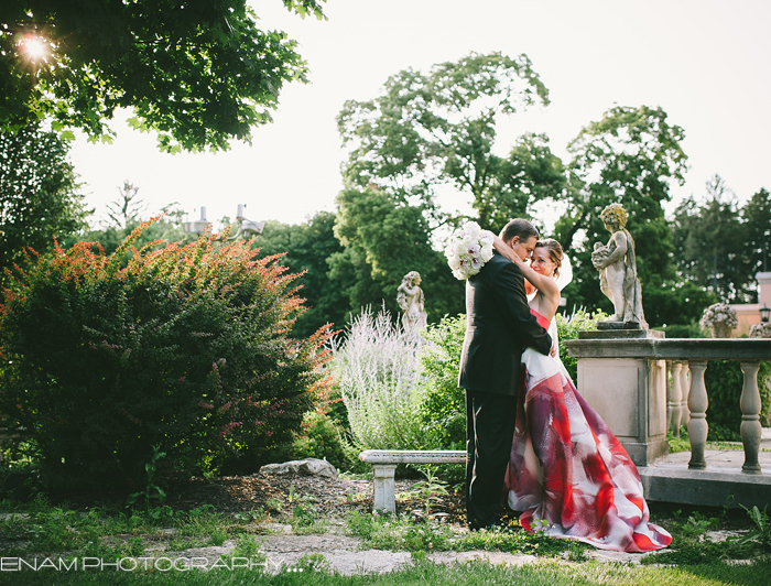 The Cuneo Mansion & Gardens Wedding with Antonia & Frank - Chicago Wedding Photographers