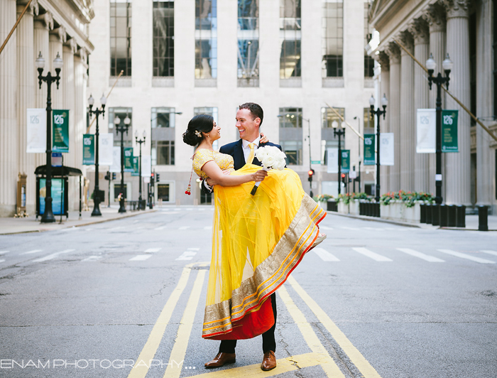 Multi-Cultural Fusion Wedding with Kyle & Nisreen at The Chicago Cultural Center.