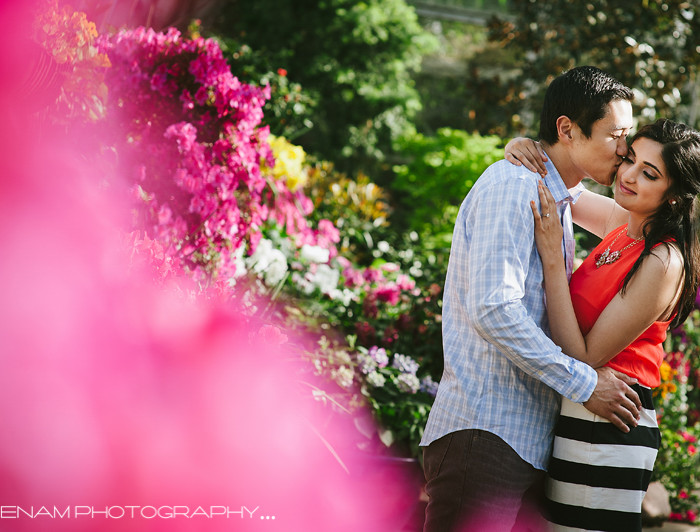 Northwestern University Engagement Pictures with Sejal & Lu