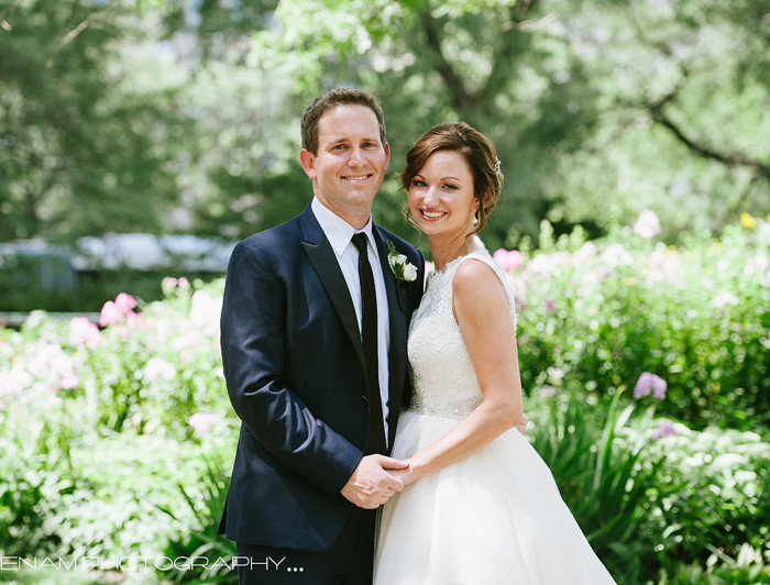 Chicago History Museum Wedding: A Glance at Courtney & Jonathan.