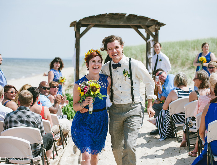 A Summer Tiscornia Park Wedding with Jessica and Bradon