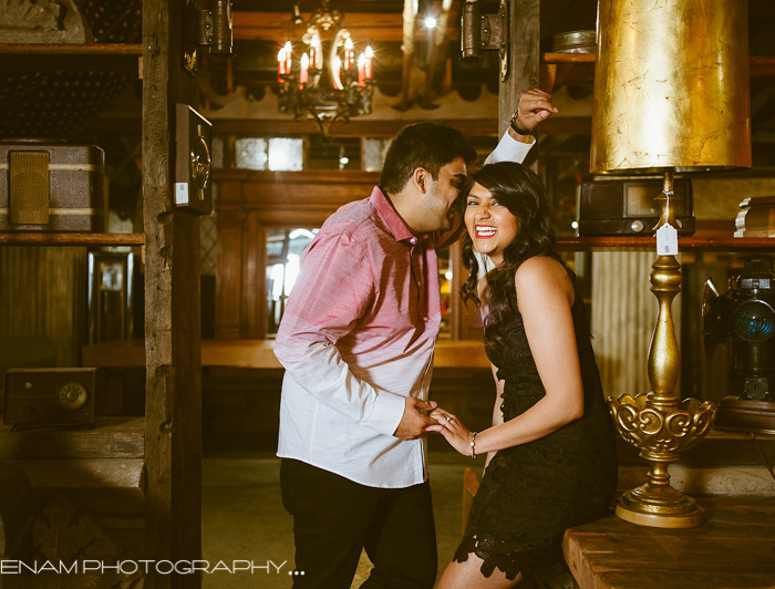 Salvage One Engagement Pictures with Vikas & Sanam