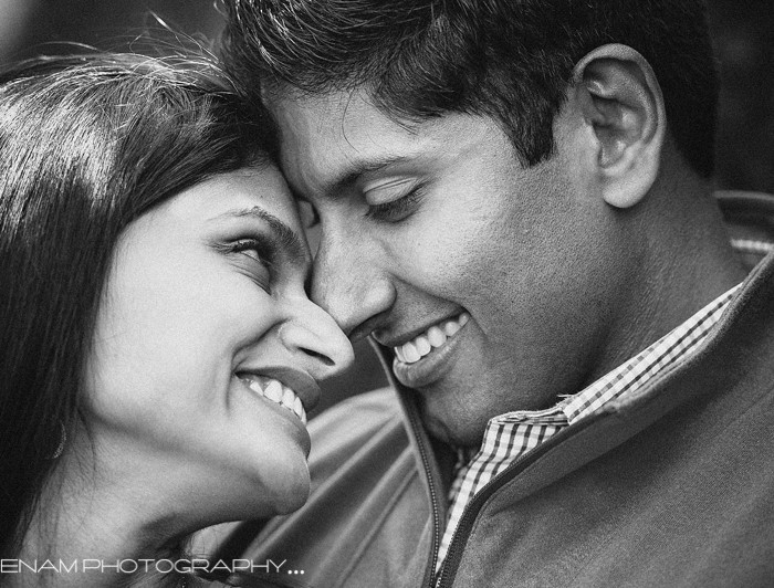 Cantigny Park Engagement Pictures with Rekha & Darshan