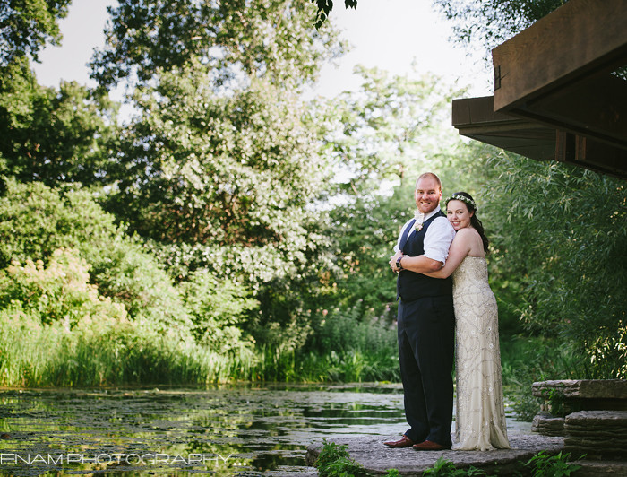 Alfred Caldwell Lily Pool Wedding with Erin & Chris