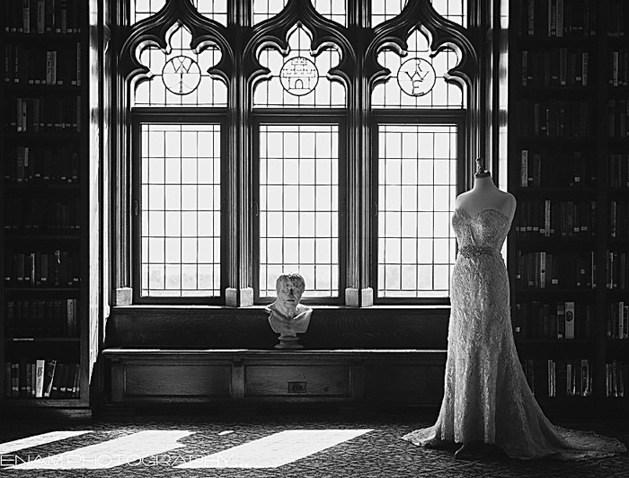 University Club of Chicago Wedding: Dress Preview